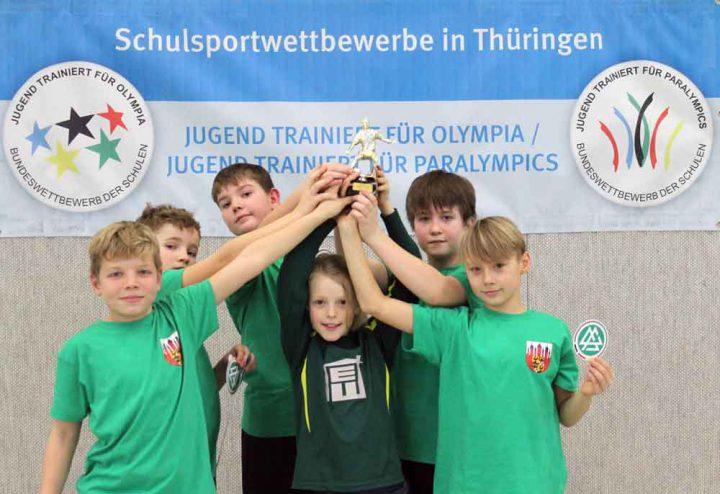 Siegermannschaft_GS_Themar-Fussballturnier-KSB