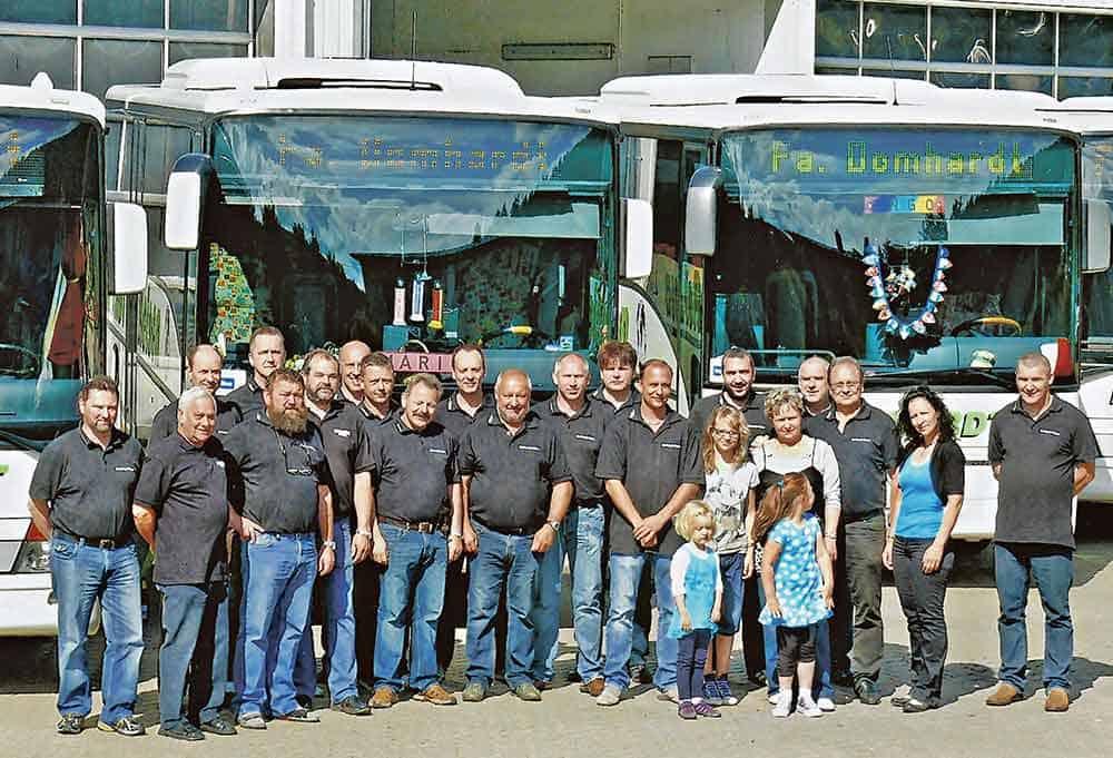 80 Jahre Busunternehmen DOMHARDT-Reisen