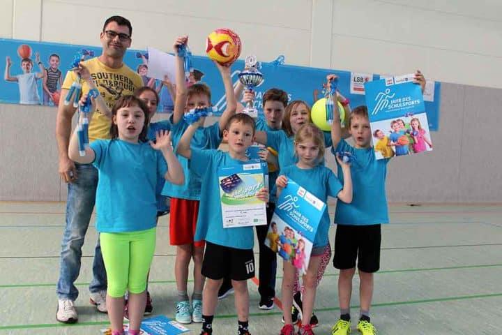 Sportlichste-Grundschule-Siegermannschaft