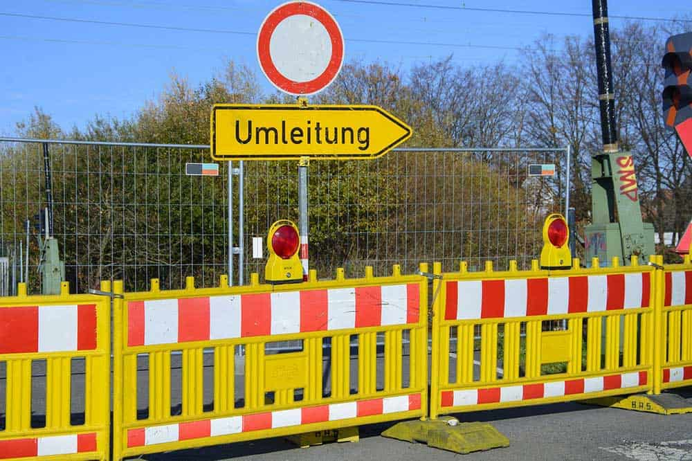 Mehrere Straßen im Landkreis gesperrt