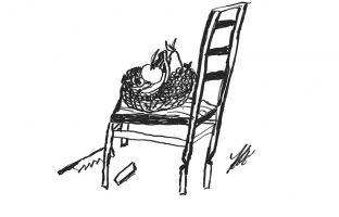 Karikatur-Obst