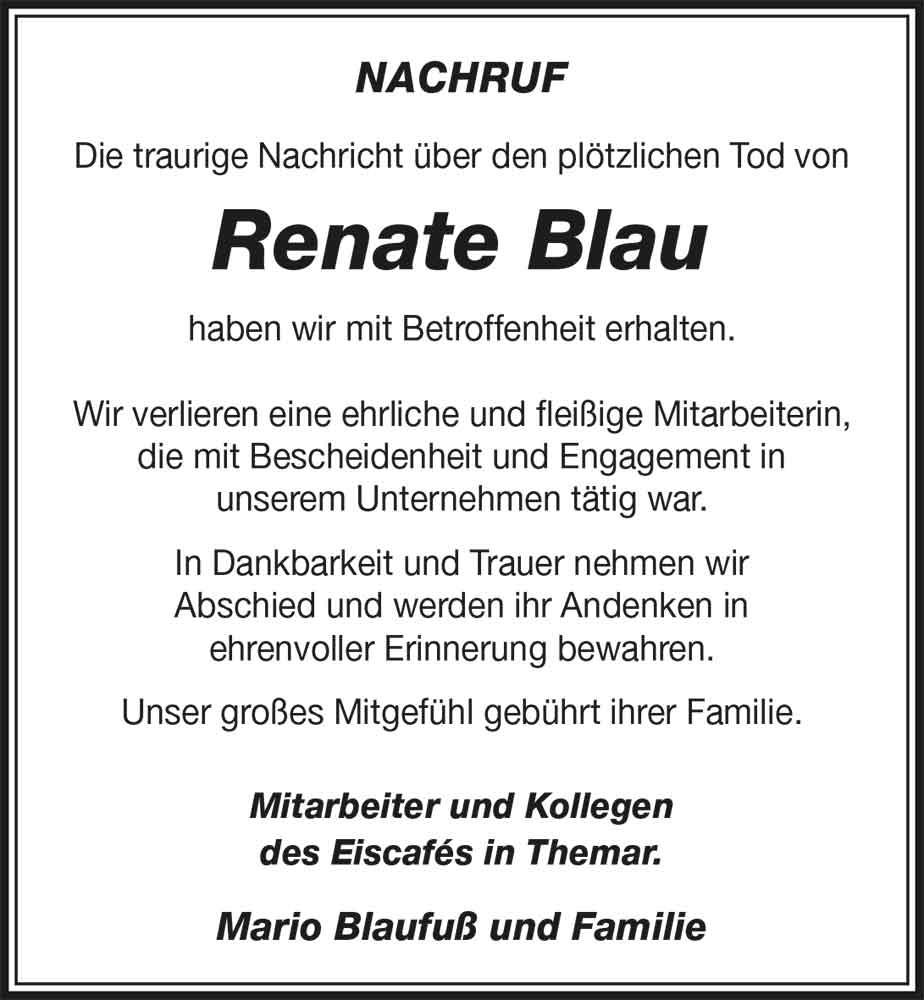 Nachruf-Renate-Blau