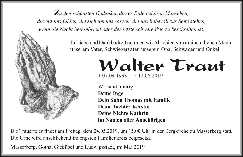 Trauer-Walter-Traut