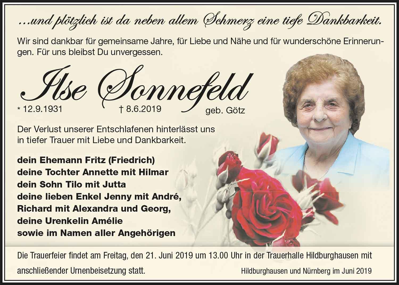 Trauer-Ilse-Sonnefeld