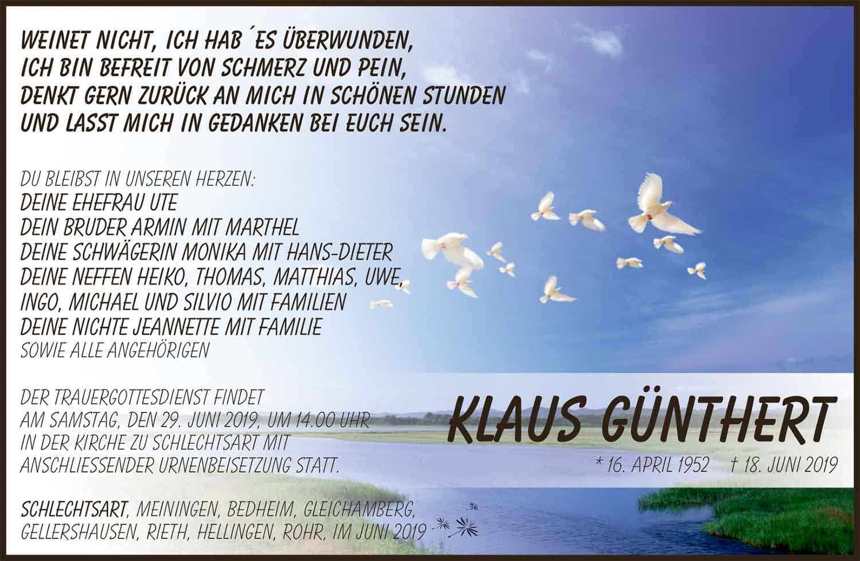Trauer_Klaus_Guenthert