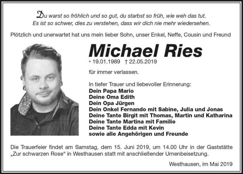 Trauer_Michael_Ries