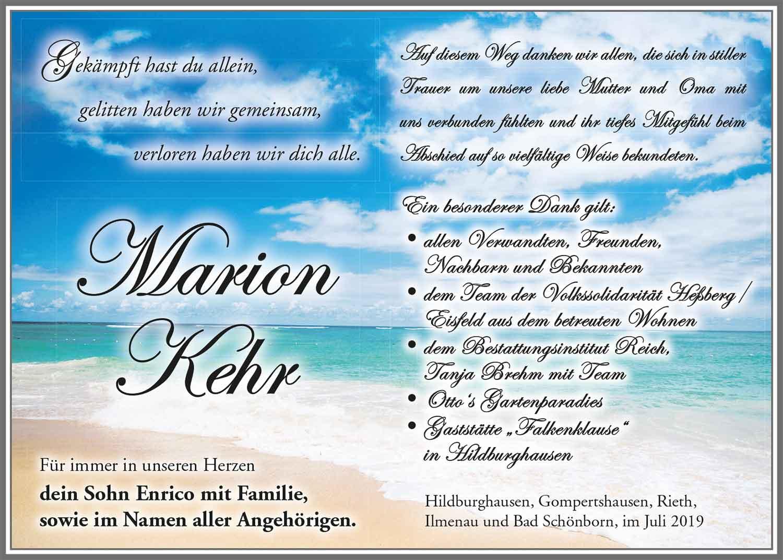 Danksagung_Marion_Kehr