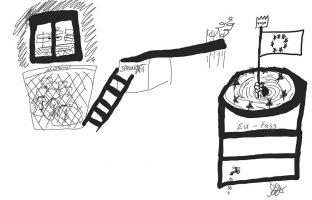 Karikatur: Katharina Keller