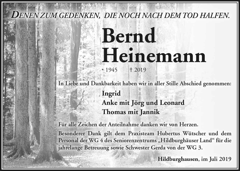 Trauer_Bernd_Heinemann