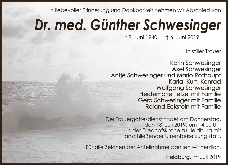 Trauer_Guenther_Schwesinger