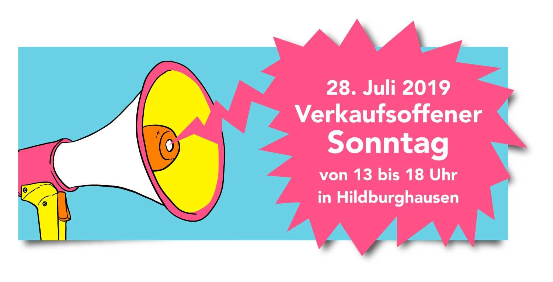 Verkaufsoffener Sonntag am 28. Juli 2019 in Hildburghausen