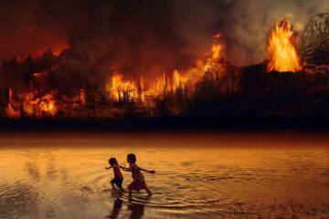 Amazonas-brennt