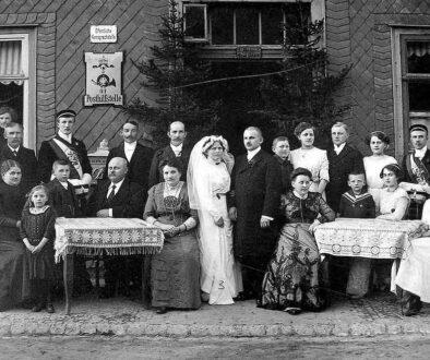 Abriss-Hochzeit