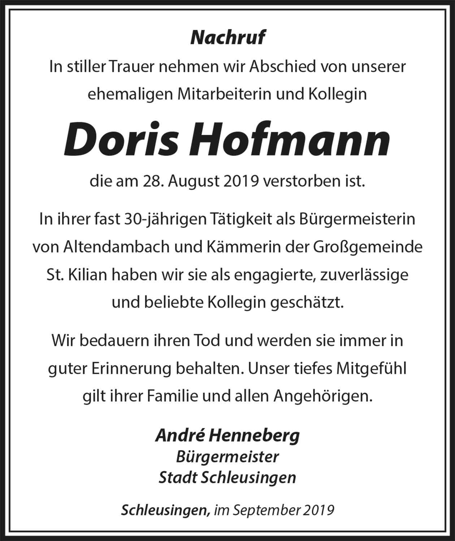 Nachruf_Doris_Hofmann