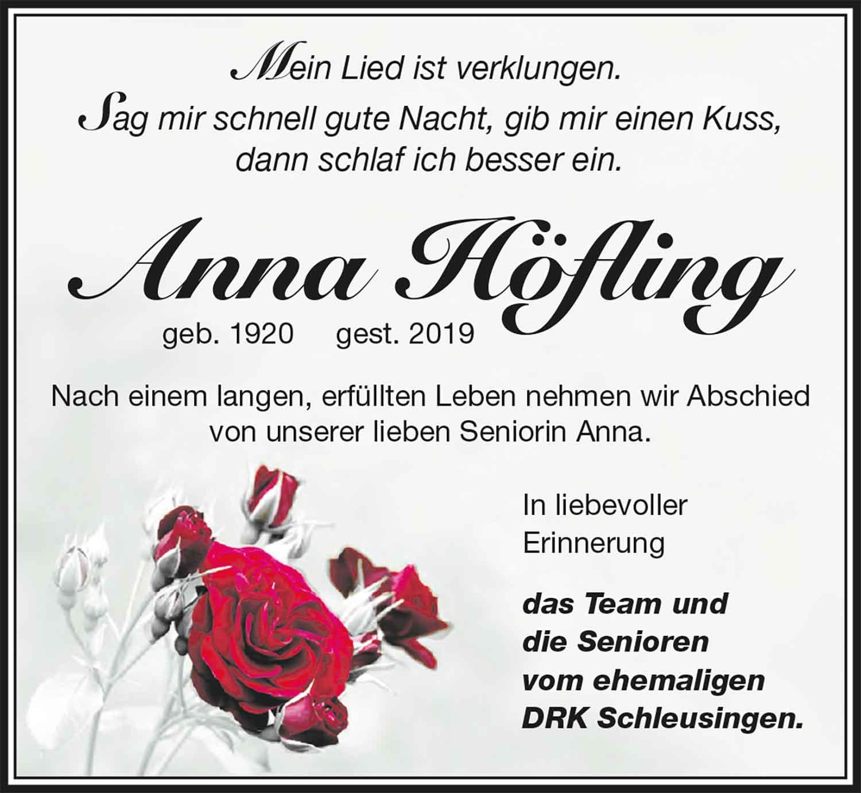 Trauer_Anna_Hoefling