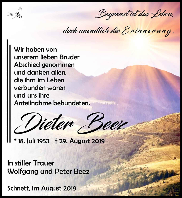 Trauer_Dieter_Beez