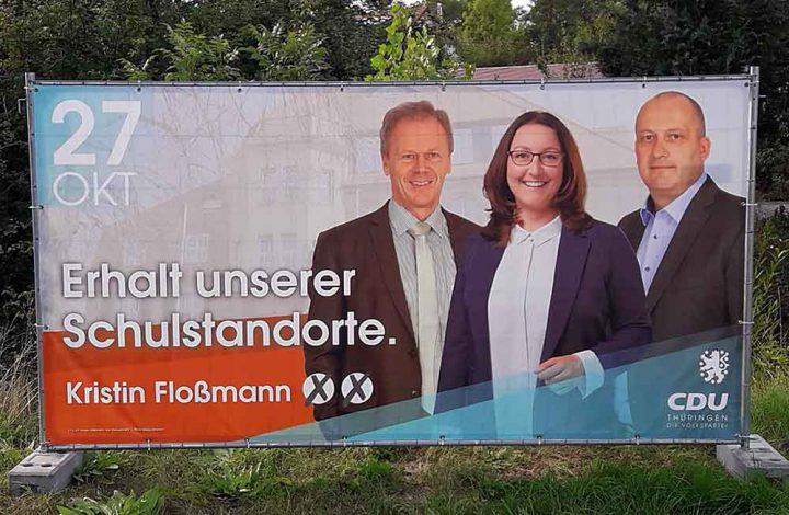 Wahlplakat-Flossmann-Schulen