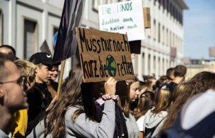 Demonstration-Klimaschutz