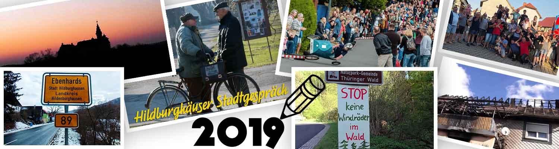 Großer Jahresrückblick der Südthüringer Rundschau