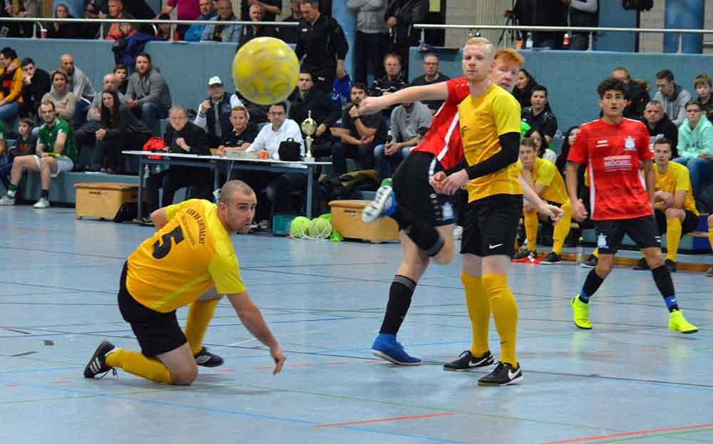 SG Glücksbrunn Schweina triumphiert beim Sparkassen-Cup