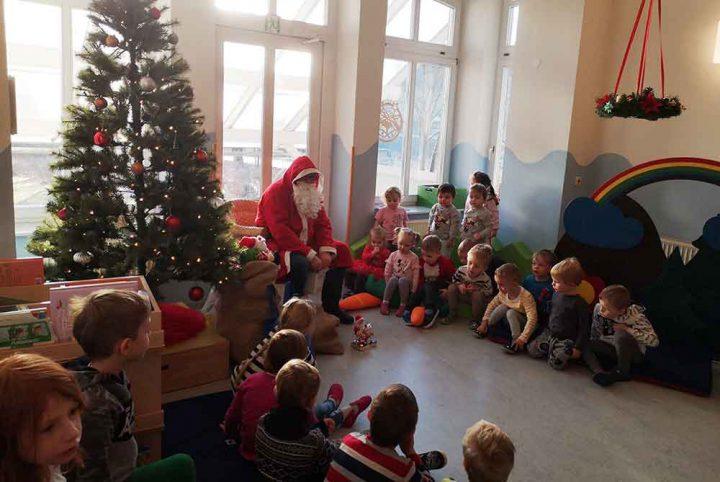 Weihnachtsmann-Parkmaeuse