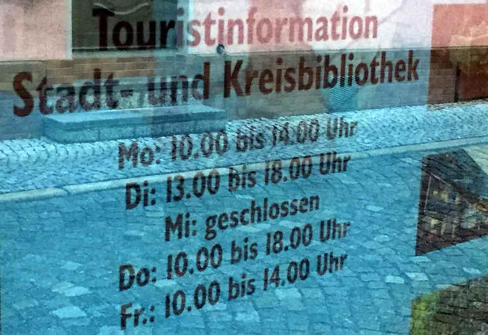 Touristinformation Hildburghausen ab Montag wieder geöffnet