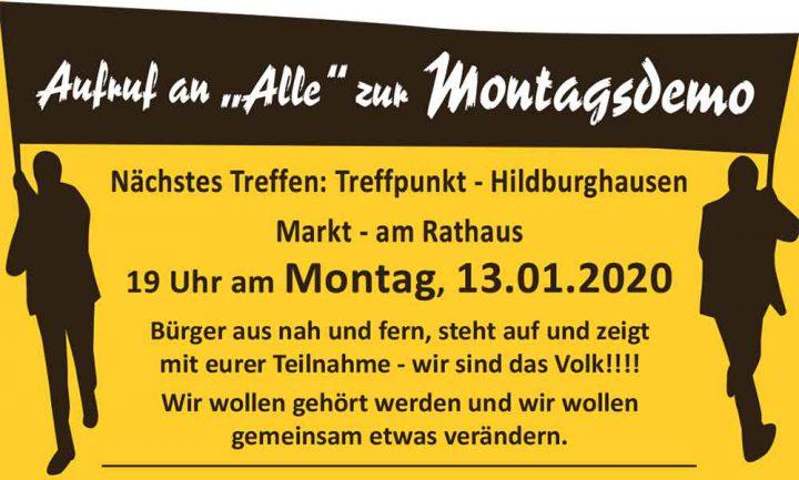 Montagsdemo-13-01-2020