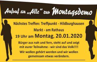 Montagsdemo-20012020