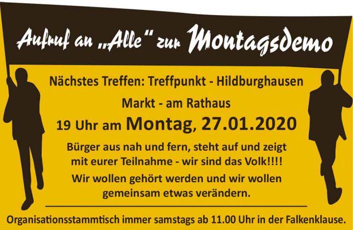 Montagsdemo-27012020