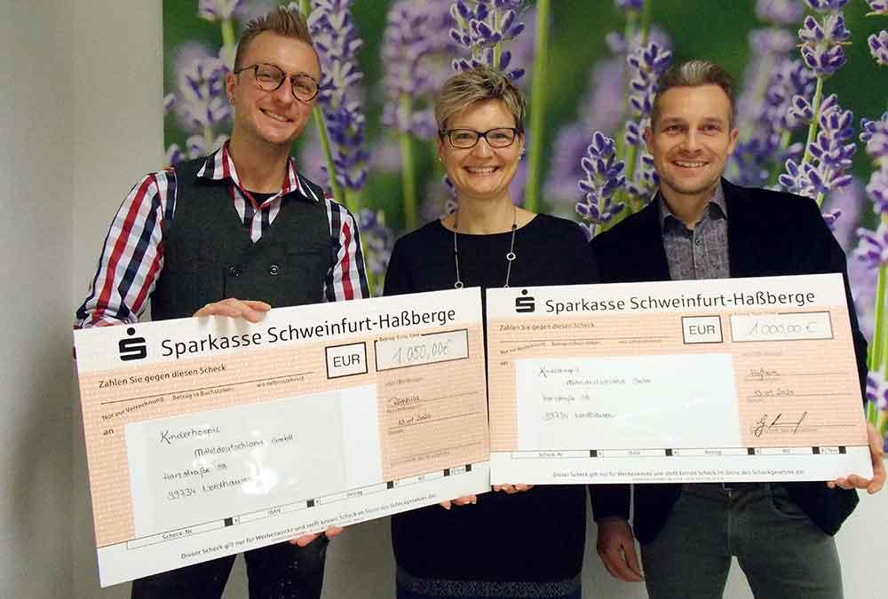 Kinder- und Jugendhospiz Mitteldeutschland erhält Spenden