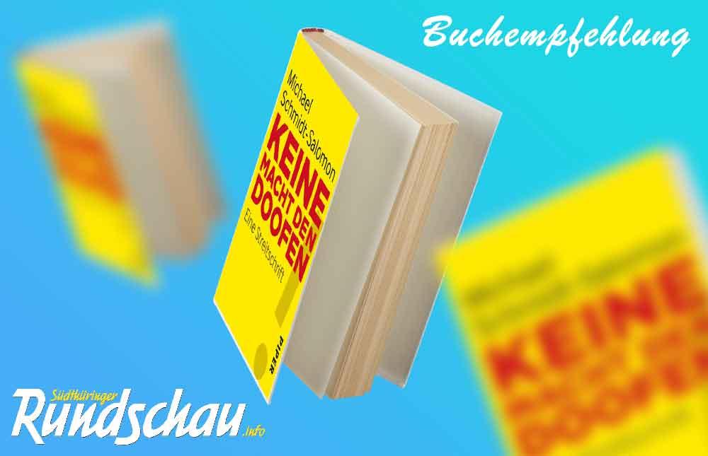 """Lesermeinung zum Buch """"Keine Macht den Doofen"""""""