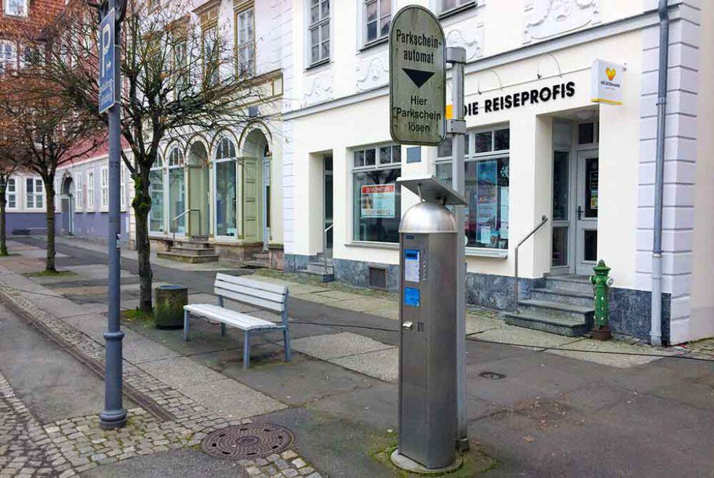 Parkscheinautomat-Markt-Hildburghausen