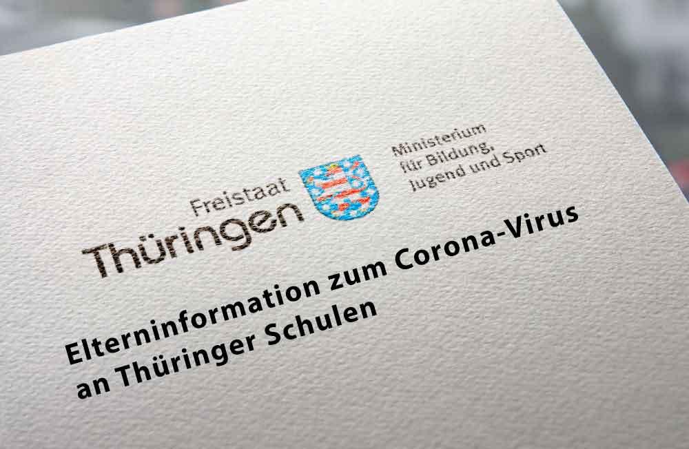 Corona-Virus: Aktuelle Maßnahmen an Thüringer Schulen