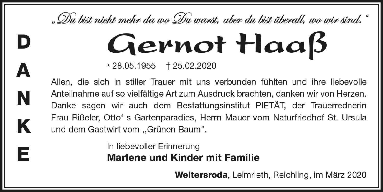 Danksagung_Gernot_Haass