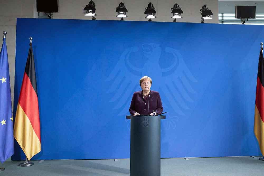 Bund und Länder verständigen sich auf umfangreiches Kontaktverbot ab Montag