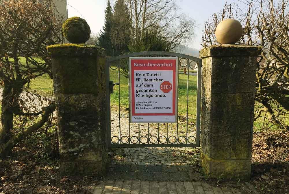 Erneutes Besuchsverbot in den Helios Fachkliniken Hildburghausen
