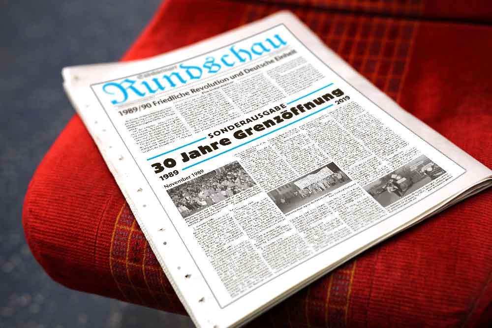 """Sonderausgabe """"30 Jahre Grenzöffnung"""" vom 9. November 2019"""