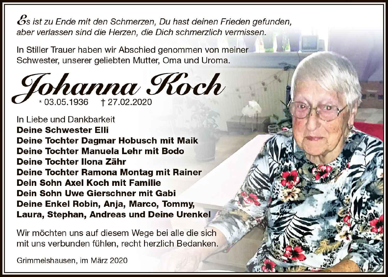 Trauer_Johanna_Koch