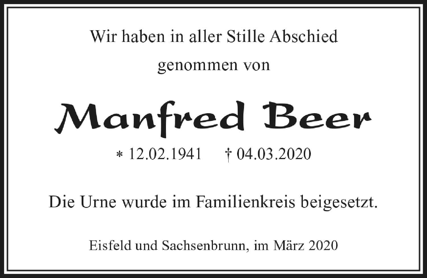 Trauer_Manfred_Beer