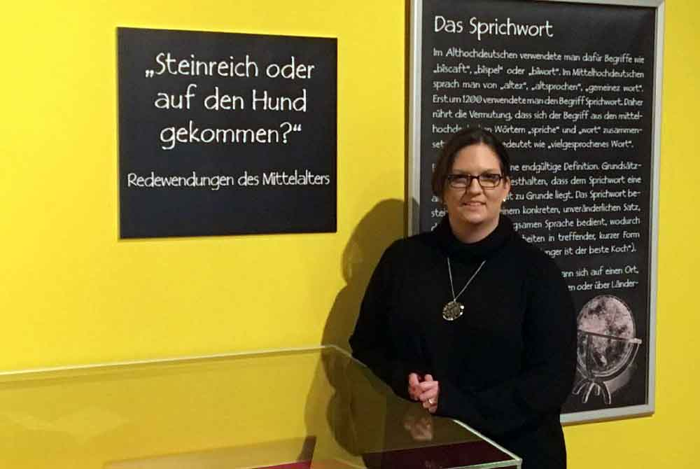 """""""Steinreich oder auf den Hund gekommen? Redewendungen des Mittelalters"""""""