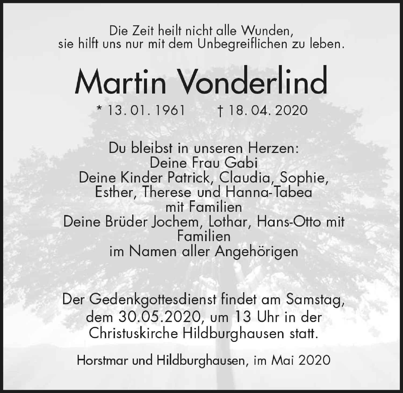 Trauer_Martin_Vonderlind