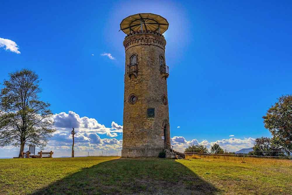 Wiedereröffnung des Bismarckturms