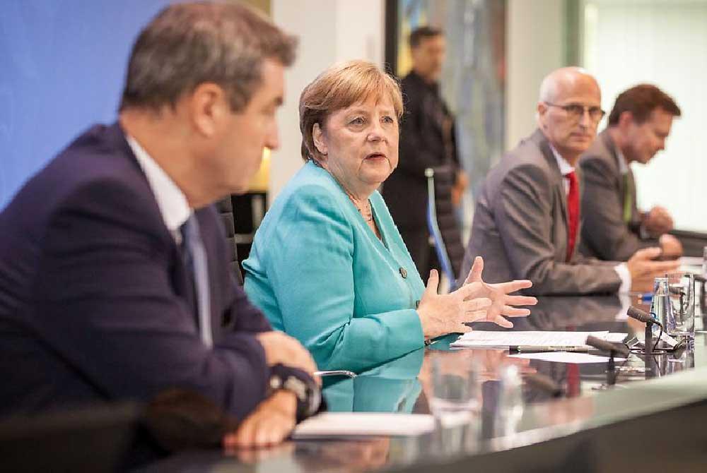 """Bund-Länder-Gespräch: """"Wir werden viel Kraft brauchen"""""""