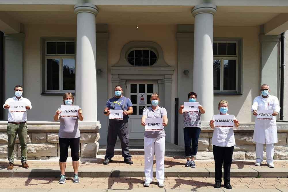 MEDIAN Klinik Bad Colberg testet Mitarbeitende systematisch