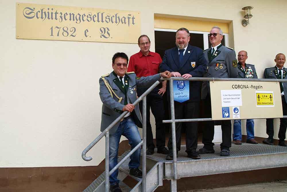 """""""Schützengesellschaft 1782 e.V. Hildburghausen"""" beging 30-jähriges Bestehen nach der Wende"""
