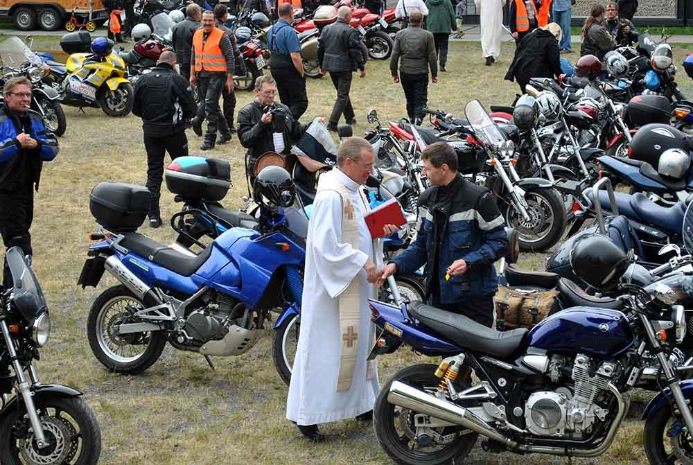 Bikergottesdienst soll Bergkirche in Crock beleben