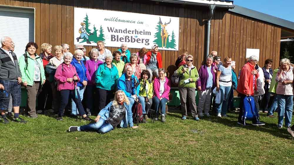 Endlich war es wieder soweit: AWO-Seniorenwanderung auf den Bleßberg
