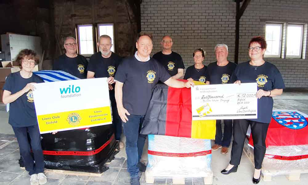 Lions-Club Eisfeld unterstützt gemeinsam mit der Wilo Foundation Deutsche Schulen in Uruquay