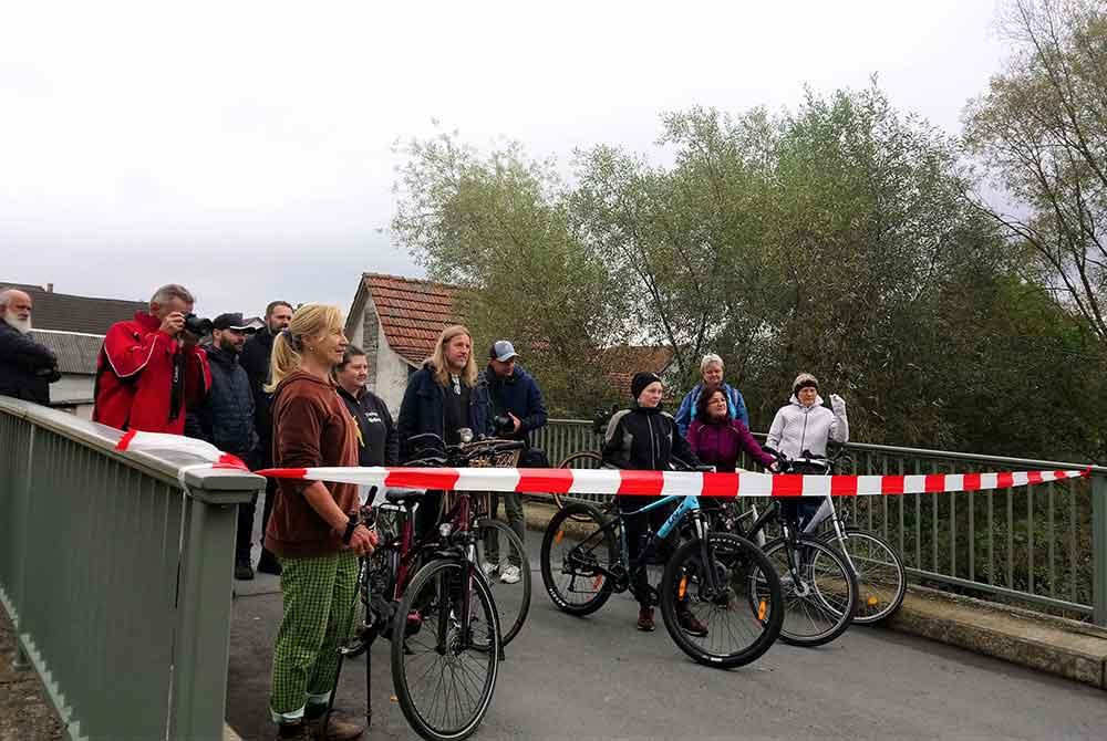 Eröffnung Merlacher Weg in Lindenau