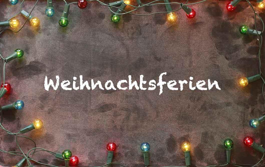 Unterricht rund um die Weihnachtszeit in Thüringen
